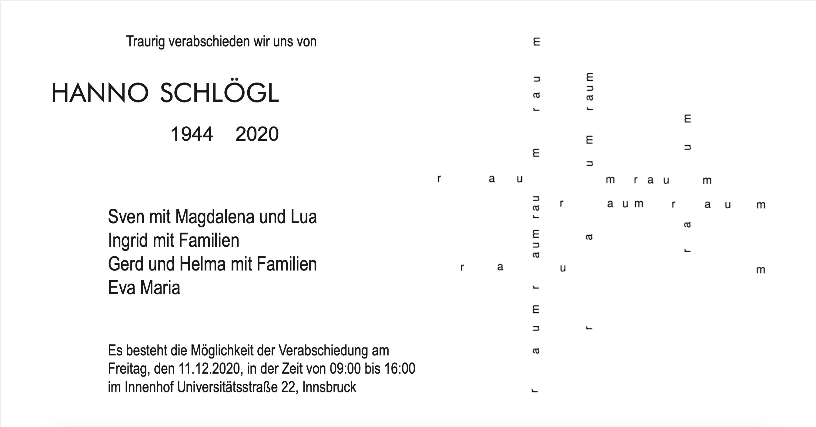 Parte Hanno Schlögl Architekt
